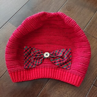 familiar - 未使用☆familiar ベレー帽 52㎝~54㎝くらい