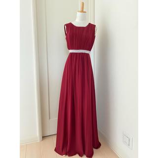 AIMER - パリ購入 赤 ロングドレス 美品 エメ お好きな方にも♪演奏会