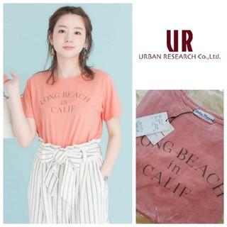 URBAN RESEARCH - 日本製♡新品タグ付き アーバンリサーチの ヴィンテージ ロゴTシャツ ピンク