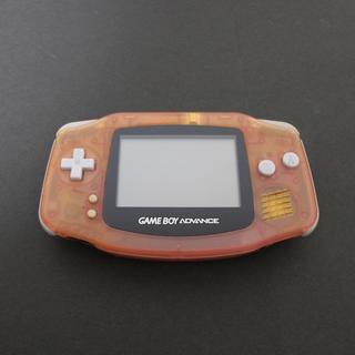 ゲームボーイアドバンス(ゲームボーイアドバンス)のゲームボーイアドバンス ミルキーピンク #2(携帯用ゲーム機本体)