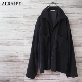 COMOLI - 2017SS Auralee Washed Corduroy Shirt JKT
