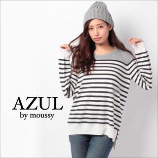 AZUL by moussy - アズールバイマウジー ボーダー トップス♡ジーナシス  SLY ロデオクラウンズ