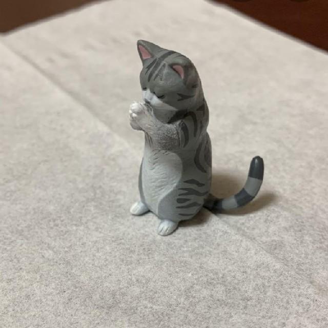 ガチャガチャ 合掌ネコ  エンタメ/ホビーのフィギュア(その他)の商品写真