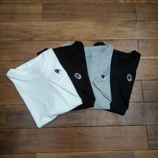 チャンピオン(Champion)の新品 チャンピオン 無地 6ozヘビーTシャツ ブラック(Tシャツ(半袖/袖なし))