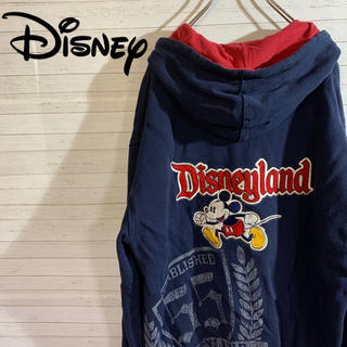 ディズニー(Disney)の【希少】古着 ヴィンテージ  フルジップパーカー 刺繍(パーカー)