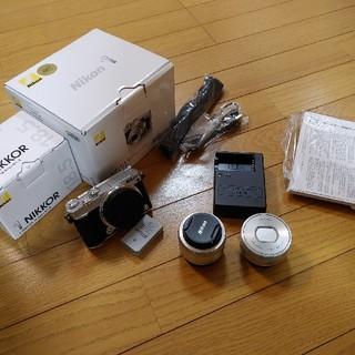 Nikon - Nikon 1 J5 ダブルレンズキット シルバー