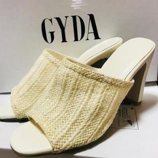 GYDA - GYDA ジェイダ サンダル パンプス ヒール 海外 インポート  ファッション