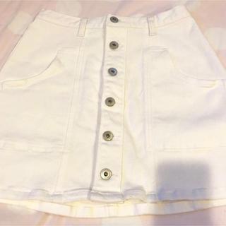 エゴイスト(EGOIST)のEGOIST  前ボタンスカート(ひざ丈スカート)