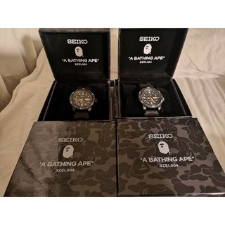 A BATHING APE - SEIKO X BAPE MECHANICAL DIVERS WATCH