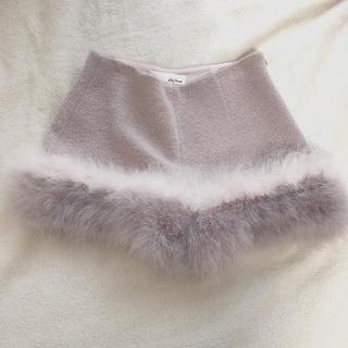 Lily Brown - リリーブラウン フェザーショートパンツ ピンク