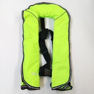 子供用 ライフジャケット 自動膨張式 イエロー 新品(ウエア)
