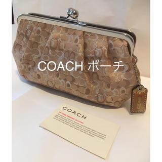 COACH - COACH ポーチ