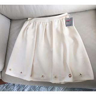 エル(ELLE)の新品 ELLE エル フレアースカート(ひざ丈スカート)