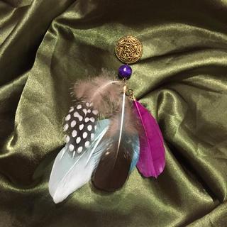 ロキエ(Lochie)の vintage feather pierce(ピアス)