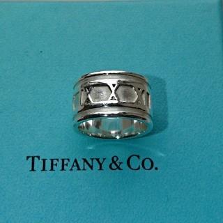 Tiffany & Co. - ティファニー ワイド アトラス リング 正規品