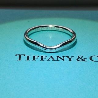 ティファニー(Tiffany & Co.)のティファニー カーブドバンド リング 正規品(リング(指輪))