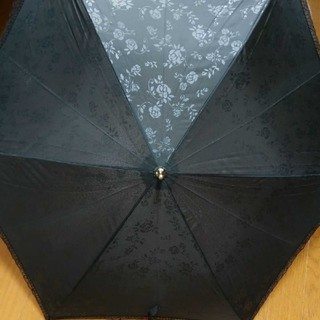 晴雨兼用 のレースつき傘(傘)