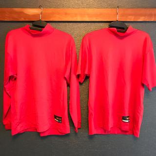 ザナックス(Xanax)のザナックスアンダーシャツ長袖半袖セット 赤 M(ウェア)