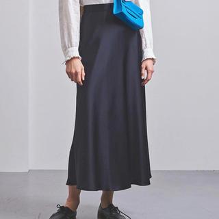 UNITED ARROWS - UNITED ARROWS サテンスカート 38 美品