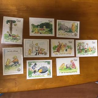 クマノプーサン(くまのプーさん)のくまのプーさん ポストカード 9枚(写真/ポストカード)