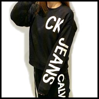 Calvin Klein - カルバンクライン ジーンズ スウェット【購入時コメント不要です】