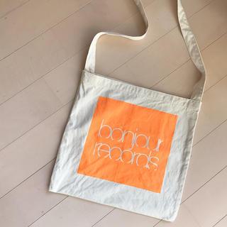 ボンジュールレコーズ(bonjour records)のbonjour records(トートバッグ)