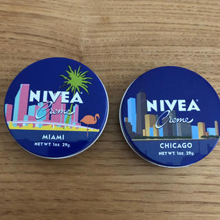 ニベア - ニベア 北米限定品 青缶29g2個セット