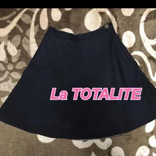 ラトータリテ(La TOTALITE)のLa TOTALITE 上品膝丈スカート(ひざ丈スカート)