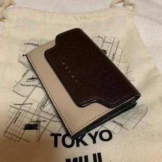 マルニ(Marni)のMARNI コンパクト三つ折り財布(財布)