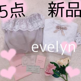 エブリン(evelyn)の5点💕(セット/コーデ)