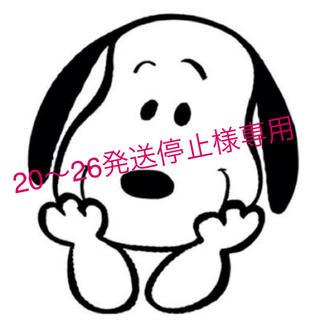 スヌーピー(SNOOPY)の20〜26発送停止様専用ページ(その他)