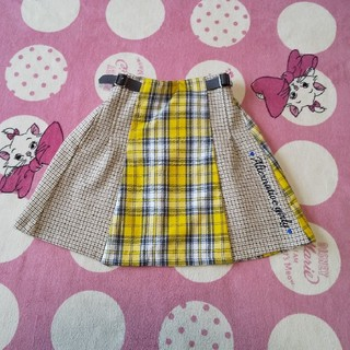 ジェニィ(JENNI)の即購入OK♡ALGY チェックスカート 130(スカート)