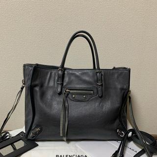 バレンシアガバッグ(BALENCIAGA BAG)のバレンシアガ ペーパー ミニ バッグ グレー(ショルダーバッグ)