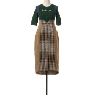 REDYAZEL - REDYAZEL サスペンダータイトスカート