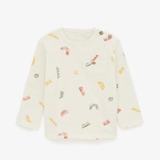 ザラキッズ(ZARA KIDS)の今季新作完売 ZARA baby ザラ ベビー 110 プリント柄 長袖Tシャツ(Tシャツ/カットソー)