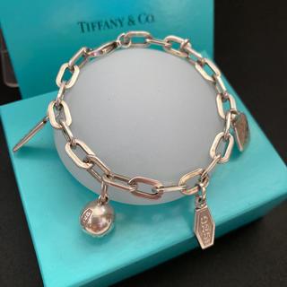 Tiffany & Co. - tiffany ヴィンテージ5チャームブレスレット