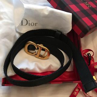 クリスチャンディオール(Christian Dior)の新作新品未使用 ディオール ナイロンベルト (ベルト)