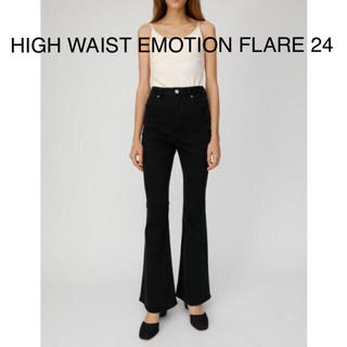 moussy - USSY★新品24★HIGH WAIST EMOTION FLARE