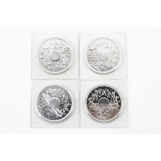 【記念硬貨】昭和61年 在位60年記念10000円銀貨 4点セット(貨幣)