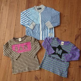 エーアーベー(eaB)のロンT他 90サイズ(Tシャツ/カットソー)