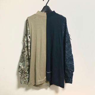ジエダ(Jieda)のREWRITABLE リメイクカットソー(Tシャツ/カットソー(七分/長袖))