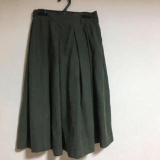 レトロガール(RETRO GIRL)のカーキ  モスグリーン  スカート (ひざ丈スカート)