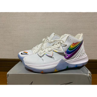 kyrie5 rainbow collar