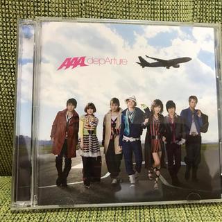 トリプルエー(AAA)のAAA depArture  CD+DVD 2枚組(ポップス/ロック(邦楽))