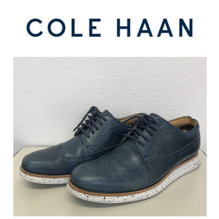 コールハーン(Cole Haan)の☆希少/レア☆コールハーン×ナイキコラボ☆ドレスシューズ☆8.5M/26.5㎝(ドレス/ビジネス)
