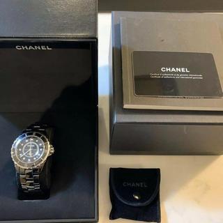 CHANEL - CHANEL J12 オートマティックブラック 新品・未使用