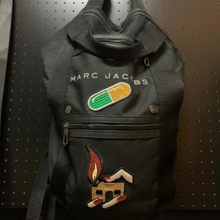 マークジェイコブス(MARC JACOBS)のマークジェイコブス リュック カスタム ワッペン 中古(バッグパック/リュック)