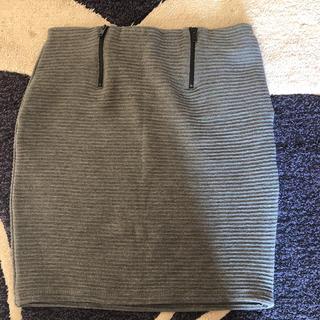 ベルシュカ(Bershka)のベルシュカ ミニ スカート リブ素材(ミニスカート)