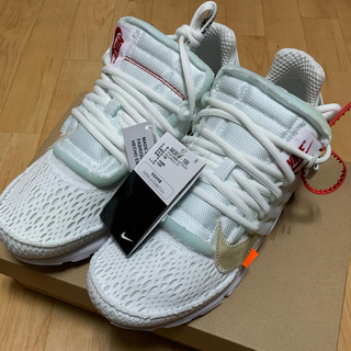 OFF-WHITE - 新品 OFF-WHITE × NIKE AIR PRESTO WHITE