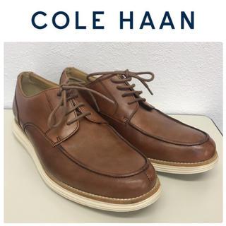 コールハーン(Cole Haan)の美品☆コールハーン ルナグランド☆革靴/ブラウン系☆8.5M/26.5㎝(ドレス/ビジネス)
